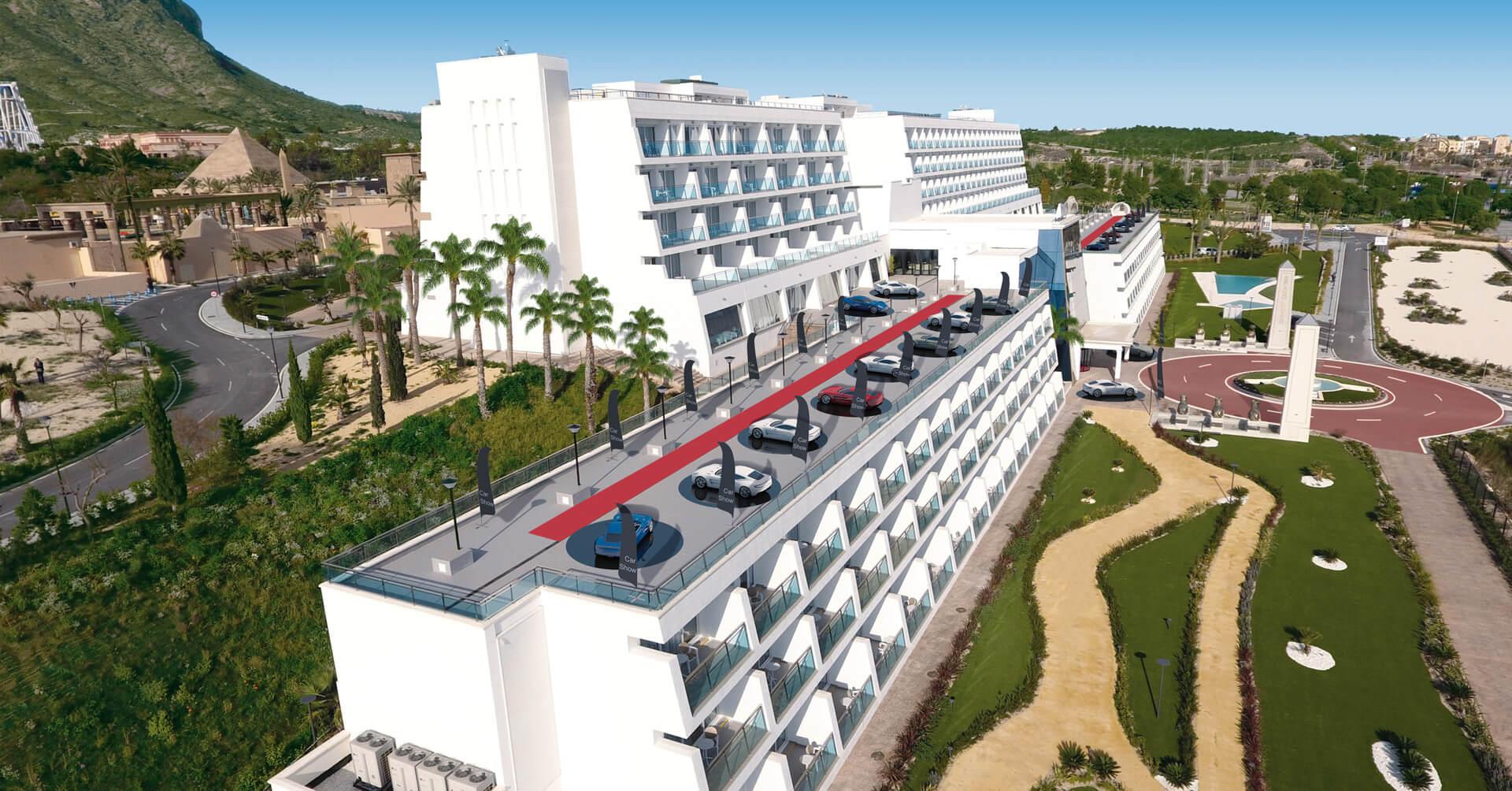 Presentaciones de automóviles en Grand Luxor Hotels