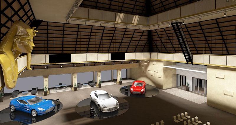 Presentacion de automoviles salon congresos Grand Luxor Hotel